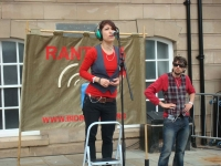 RantBox at Stockton International Riverside Festival Aug 2011